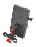 CAME-TV VM02 Plaque de batterie v-mount avec câble de connexion