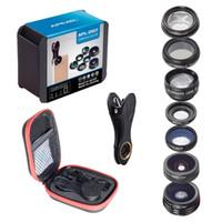 Apexel 7 1 seyahat taşınabilir lens kiti ile hafif evrensel telefon için akıllı telefon
