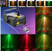 barra de alta calidad y equipos de luces láser KTV iluminaciones de la etapa de control de iluminación láser voz effcet 3D de luces de Navidad 110 - 240 V