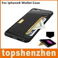 Luxus tpu leder brieftasche case mit bilderrahmen id kartenhalter telefon abdeckung für iphone6 4 s 5g 5 s 6 s plus schutzhülle