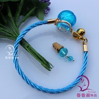1pcs 15x19mm, Murano Glass Perfume Vial Bracelet Ball, Aroma b...