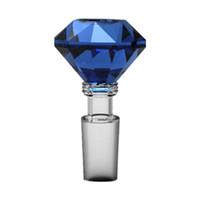 Diamant Glas teile Halter Rutsche Schüssel Esche Catcher glas 14mm 18mm joint Kostenloser versand