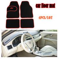 oto anti kayma mat için Universal Araç ayak paspası, ücretsiz kargo, üç renk, sol direksiyon SADECE! 3 Renk Araç Kat Mat
