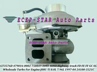 GT3576D 479016 750849 479016-0001 750849-0001 24100-3521C Turbo Turbocompressore per camion HINO Highway 1997-04 J08C-Ti J08CTi 8.0L