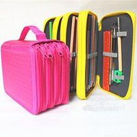 Portable Drawing Sketching Pencils Pen Case Holder Bag For 7...