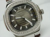 Nuevo diseño de moda dama reloj de cuarzo relojes de pulsera de cuero 041 para las mujeres