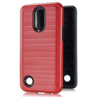 Casos de telefone por 2 em 1 armadura híbrida para LG K20 Stylo5 Stylo6 Stylo7 Aristo Samsung A71 A51 A31 com oppbags