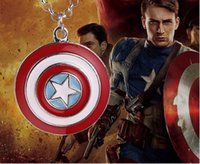 alloy punk boy round Marvel The Avengers Captain America Shi...