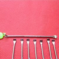 جودة أداة الشمع dabber vax البخاخة المقاوم للصدأ dab التيتانيوم مسمار أداة نظيفة الجاف عشب المرذاذ القلم