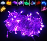 Noel Yılbaşı 10 metre 100LED 100 LED String Işık perdesi flaş penceresini ışıkları