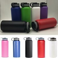 New 18OZ 32oz 40oz Vacuum Water Bottles Insulated 304 Stainl...