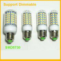 LED E27 전구 360도 옥수수 램프 G9 E14 SMD5730 8W 9W 10W 12W 따뜻한 화이트 화이트 AC110-240V UL CE