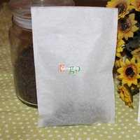 "Free Shipping! High-Class 100pcs (L) 4""x6"" 100x150mm Empty Heat-Sealing Teabags, Flower or Herbal, Filter Paper Bags, for Teapot"