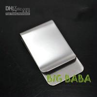 clip d'argent en acier inoxydable, clip d'argent de mode, clip d'argent Hotsale, haute qualité inox st