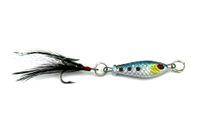 항가 200PCS 리드 미끼 낚시 미끼 낚시 리드 물고기 미끼 6.4g 4 색 깃털 후크 crappies를 해결