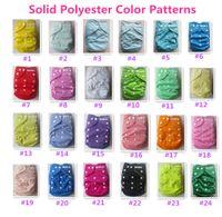 Plain Double Rows scatta pannolini di stoffa per neonati. Pannolino riutilizzabile del panno del bambino, un pannolino tascabile di un formato, pannolino del panno per voi bambino adorabile Trasporto libero