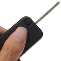 جودة عالية 10PCS 1-Button حالة مفتاح السيارة عن بعد شل مع استبدال شفرة تقطيعه مفتاح لسيارة ألمانيا M * B * سلسلة 1992-2004