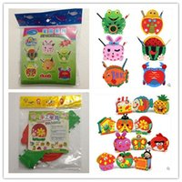 Wholesale Handmade Eva Pen Holder Eva Foam Craft Kits Kids D...