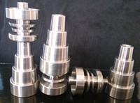 Универсальный Titanium Гвозди 10мм 14мм 18мм Joint мужского и женского Domeless Nail GR2 Регулируемое для буровых установок Стекло Бонги водопроводные трубы
