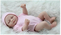 Renaître bébé poupées poupée vraie faite à la main Reborn 11 pouces réel véritable nouveau-né bébé fille poupée réaliste