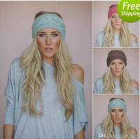 24 farben plum stricken stirnband chunky stricken stirnband earwarmer stricken wolle stirnband für frauen