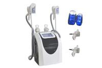 Двойные ручки охлаждения тела лепки жира замораживания похудения машина с ультразвуковой кавитации ВЧ радио requency для потери веса тела для похудения