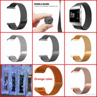Fitbit Ionic Bands Small Large Size Office 6 Colore Acciaio inossidabile Milanese Magnetic Replacement Sprot Strap Accessori per Fitbit Ionic