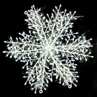 Free Shipping New White Snowflake Ornaments Christmas Tree D...