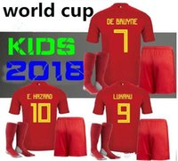 WITH SOCKS Belgium BOYS 2018 Home Batshuayi LUKAKU FELLAINI ...
