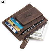 Wholesale magnets business cards buy cheap magnets business cards 7 photos wholesale magnets business cards ms mens top crazy horse leather zipper coin wallet business casual colourmoves