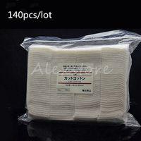 Autentico cotone giapponese non sbiancato 100% biologico taglio natura cotone 140 pezzi / borsa 50mm * 60mm da MUJI ventosa pad stoppino RDA PK Koh Gen Do soffio