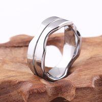 2017 nueva moda de acero color tungsteno anillo masculino joyería fresca para hombre bandas de boda carburo de tungsteno