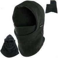 Hot Winter Outdoor Thermische Warme 6 in 1 Sturmhaube Hood Police Swat Skifahren Cap Fleece Ski Bike Schal Wind Stopper Ski Maske Hüte
