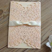 customize printing elegant sweet wedding in - Wedding Invitation Boxes