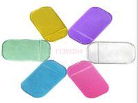 Matón antideslizante antideslizante Potente de sílice Gel Magic Sticky Pad para teléfono PDA MP3 4 accesorios para automóviles Envío gratis, 2000pcs / lote