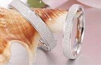 Nueva llegada anillos de pareja de plata hecha de 925 joyas de plata esterlina encanto anillos de bodas de regalo para la mujer y el hombre envío gratis