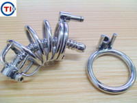 남자를위한 섹스 토이 BDSM SM DIY 순결 장치는 영구적으로 잠긴 자위를 방지합니다.