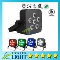 БДХ 6x8w par светодиодный свет беспроводной 4в1 аккумуляторный светодиодный телевизор с беспроводной DMX этапа Сид батарейках LED телевизор с номинальной света Освещение клуба 2020