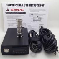 Elektronische temperaturregler box für diy raucher nagelspule mit ti nagel und viele arktischen tank spule