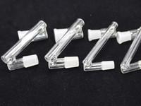10mm 14mm 18mm männlich weiblich bis 10mm 14mm 18mm männliche weibliche Dropdown-Glas-Dropdown-Adapter für Glas-Wasser-Bong-Raucherrohre
