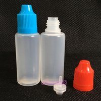 2016 뜨거운 판매 소프트 스타일 PE 니들 병이 드롭퍼 병 어린이 증거 캡을 비우 20ML LDPE E 액체 Ejuice 병 20ml를 무료 DHL