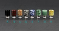 E cigarettes Wide Bore Drip Tips Jade Drip Tip Fit for EGO P...