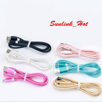 1. 5M 2A Fast Charging Alloy braided nylon usb phone charger ...