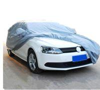 Housses de voiture Taille S / M / L / XL Imperméable À L'eau Couverture De Voiture Soleil UV Neige Poussière Pluie Résistant À La Protection Gris livraison gratuite