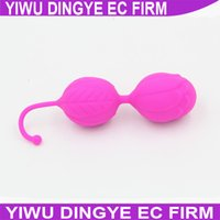 151206 2015 100% Silicone Kegel Balls, Smart Love Ball for V...