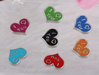 Schwimmdock Medaillons, Anhänger Emaille-Herz-Weinlese-Silber für Glas Wohn Speicher Schwimm Locket Entwurf sortierte Charme-Schmucksachen Mädchen 100PCS
