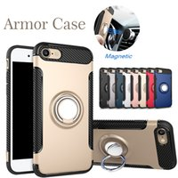 Ring Holder Magnetic Car Holder Shockproof Armor Case Cover ...