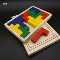 Eğlenceli Renkli Katamino Oyunu Çocuklar Bebek Ahşap Öğrenme Geometri Eğitici Oyuncak Bulmaca Montessori Erken En Iyi Hediye