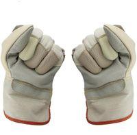 Guanti in pelle corta colorata lunga 26 cm, guanti protettivi per saldatura, maneggevolezza, protezione del lavoro, guanti da lavoro