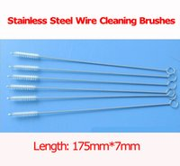 High quality! 2000pcs lot stainless steel wire cleaning brus...
